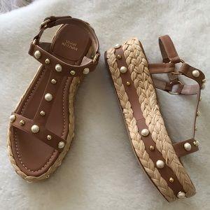 Stuart Weitzman Espadrille Sandals